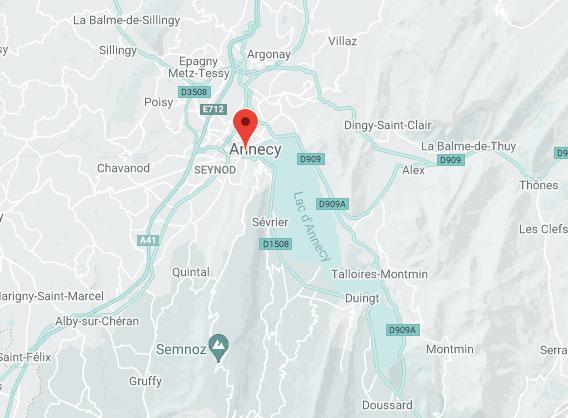 Carte Activ-Annecy